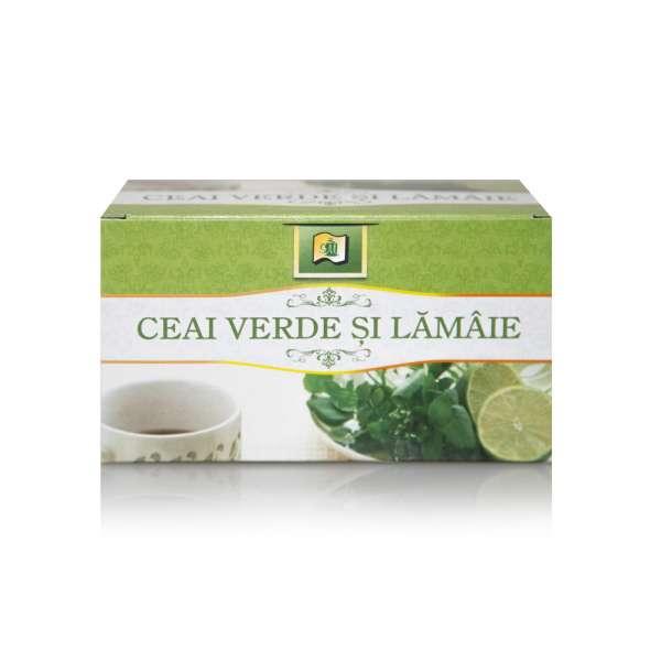 Ceai Verde si Lamaie 20 PLICURI