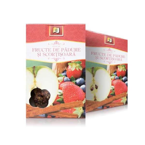 Ceai de Fructe de padure cu Scortisoara 75g