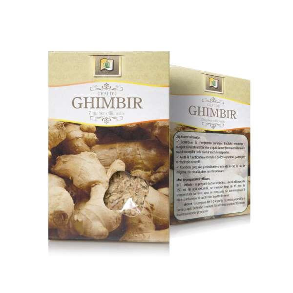 Ceai de Ghimbir radacina 50g