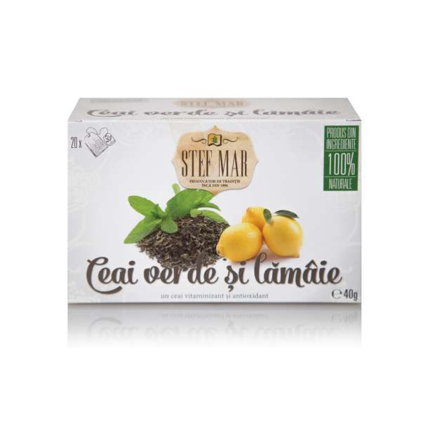Ceai Verde si Lamaie - PREMIUM 20dz