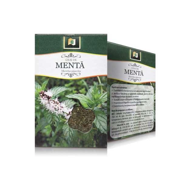 Ceai de Menta frunza 50g