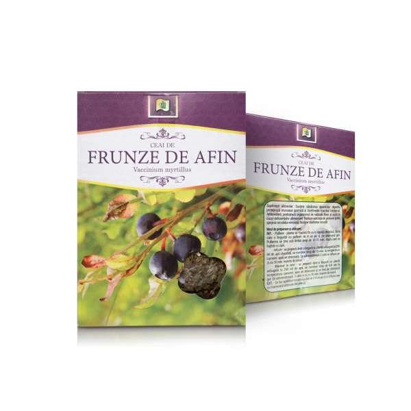 Ceai de Afin frunza 50g