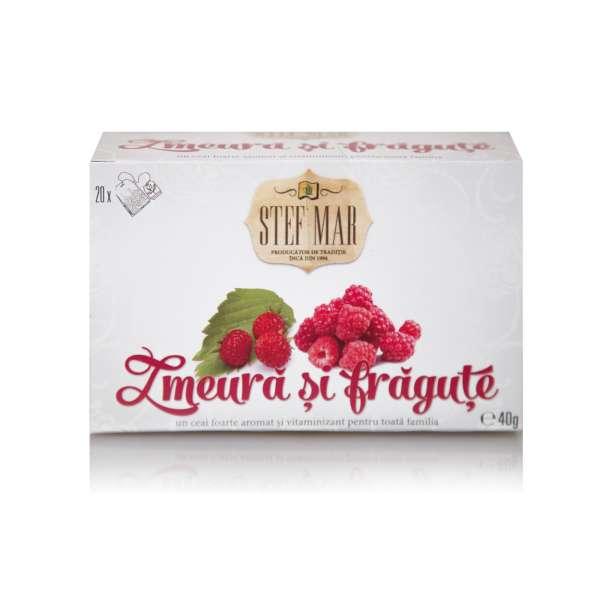 Ceai de Zmeura si Fragute- PREMIUM 20dz