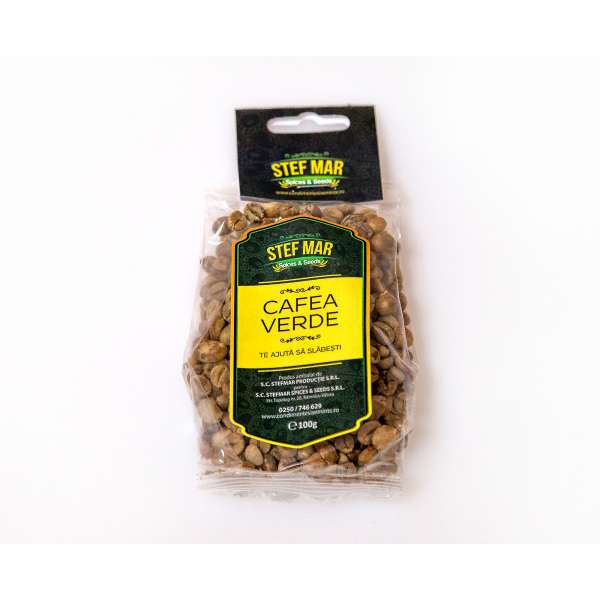 Cafea verde boabe 100g